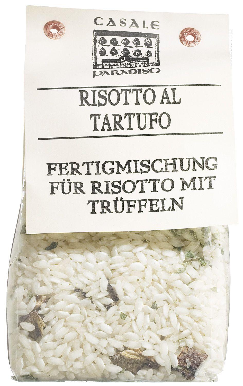 Risotto al Tartufo - Risotto mit Trüffelstücken 300g - Casale Paradiso