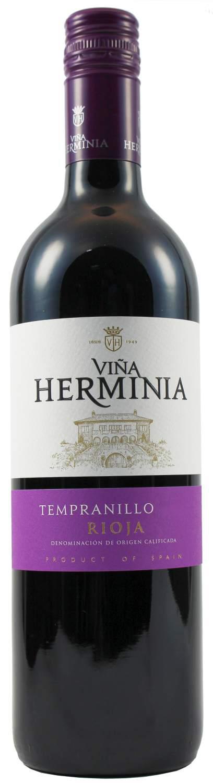 Tempranillo - D.O.Ca. Rioja Tinto  0,75 l - Bodegas Vina Herminia