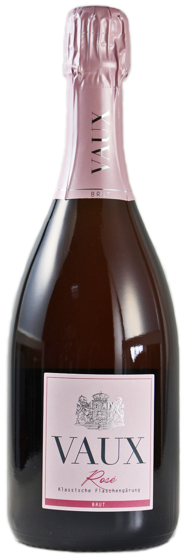 Rose Brut - Klassische Flaschengärung 0,75 l - Schloss Vaux Sekt Manufaktur, Eltville