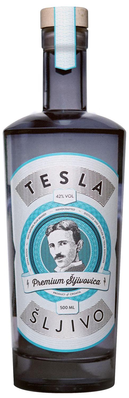 Tesla Sljivo - Premium Sljivovica - 42% Vol.  0,50 l