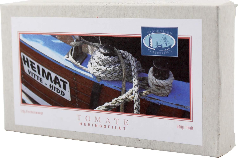 Heringsfilet - Tomate - Hiddenseer Kutterfisch 200g