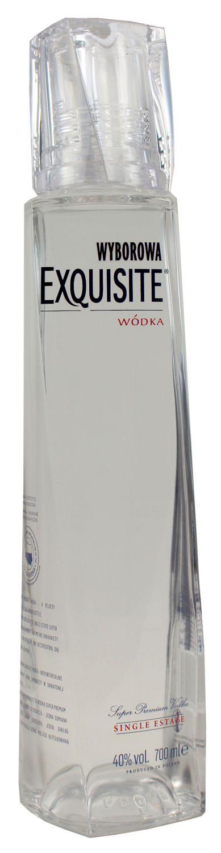 Wyborowa Exquisite Vodka - 40% Vol.  0,70 l - Polen
