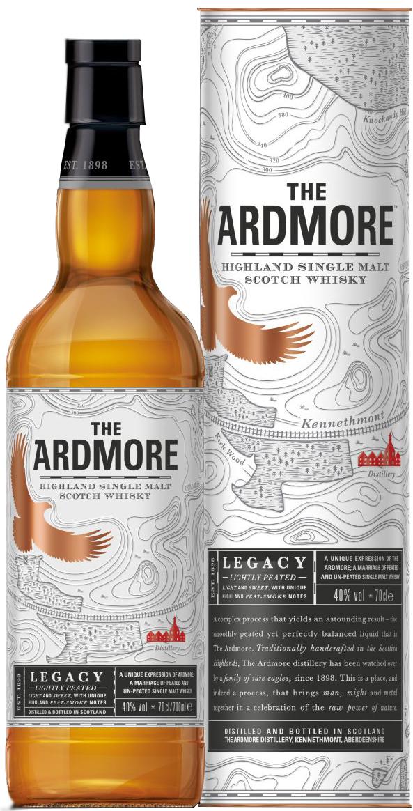 Ardmore Legacy - Highland Single Malt - 40% Vol. 0,70 l