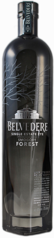 Belvedere Smogory Vodka - Single Estate Rye - 40% Vol. 0,70 l
