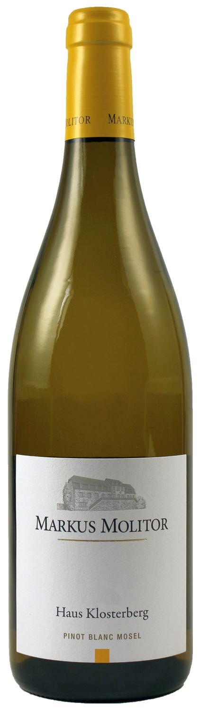 Pinot Blanc trocken - Haus Klosterberg  0,75 l - Weingut Markus Molitor, Mosel