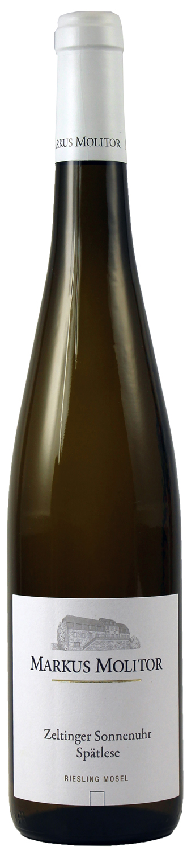 Riesling Spätlese trocken - Zeltinger Sonnenuhr  0,75 l - Weingut Markus Molitor, Mosel