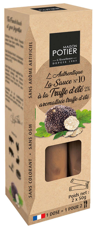 La Sauce Ó la Truffe - Trüffelsoße 180g - Potier, Frankreich