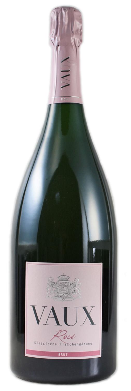 Rose Brut - Klassische Flaschengärung 1,50 l - Schloss Vaux Sekt Manufaktur, Eltville