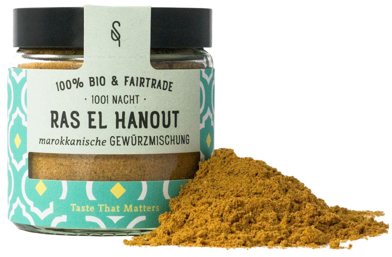 Ras El Hanout - Arabische Bio Gewürzmischung 45g - SoulSpice