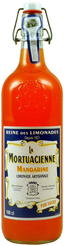 La Mortuacienne - Mandarinenlimonade  1,0 l - Rieme Boissons, Frankreich
