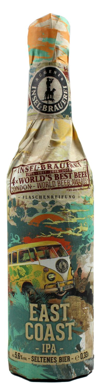 East Coast IPA - Rügener Insel-Brauerei, Rambin - 5,6% Vol.   0,33 l