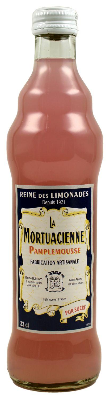 La Mortuacienne - Grapefruitlimonade  0,33 l - Rieme Boissons, Frankreich
