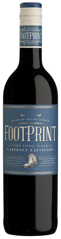 Cabernet Sauvignon - Footprint  0,75 l - Wine Of Origin Western Cape