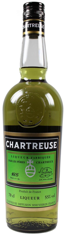 Chartreuse Vert - Grün - Frankreich - 55%  0,70 l