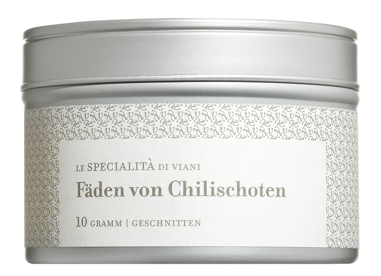 Fäden von Chilischoten - 10 g Dose - Viani