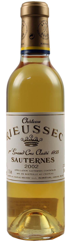 2002er Chateau Rieussec - 1er Cru Classe - Sauternes AC  0,375 l