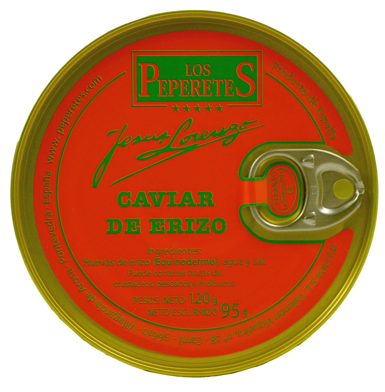 Caviar de Erizo - Seeigeleier 120g - Peperetes Jes·s Lorenzo, Spanien