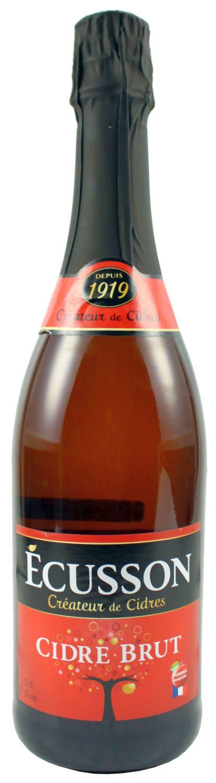 Cidre de Normandie Brut - Ecusson 0,75l