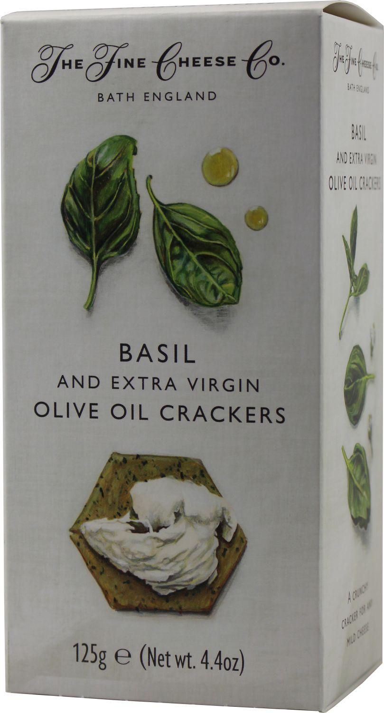 Basilikum Cracker 125g - Fine Cheese Company - Somerset, England