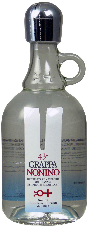 Grappa Friulana Nonino - distilata artigianalmente - 43% Vol. 0,70 l