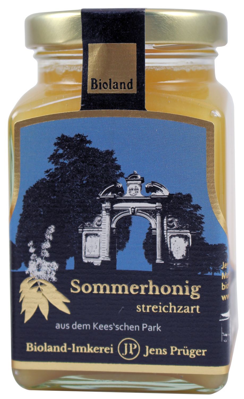 Sommerhonig - Imkerei Jens Prüger 330g - Honig aus dem Keesschen Park