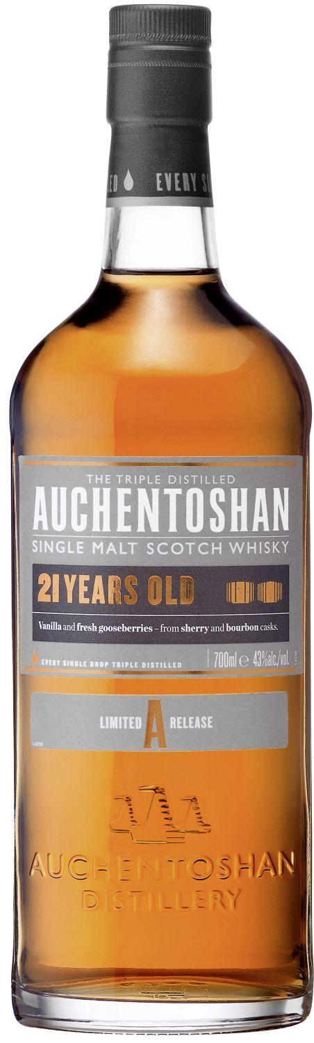 Auchentoshan 21 Jahre - Single Lowland Malt - 43% Vol.  0,70 l