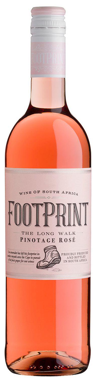 Pinotage Rose - Footprint  0,75 l - Wine Of Origin Western Cape