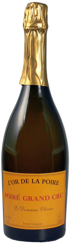 Cidre Poire Grand Cru - L Or de la Poire 3% Vol. 0,75 l - Le Domaine Olivier, Normandie