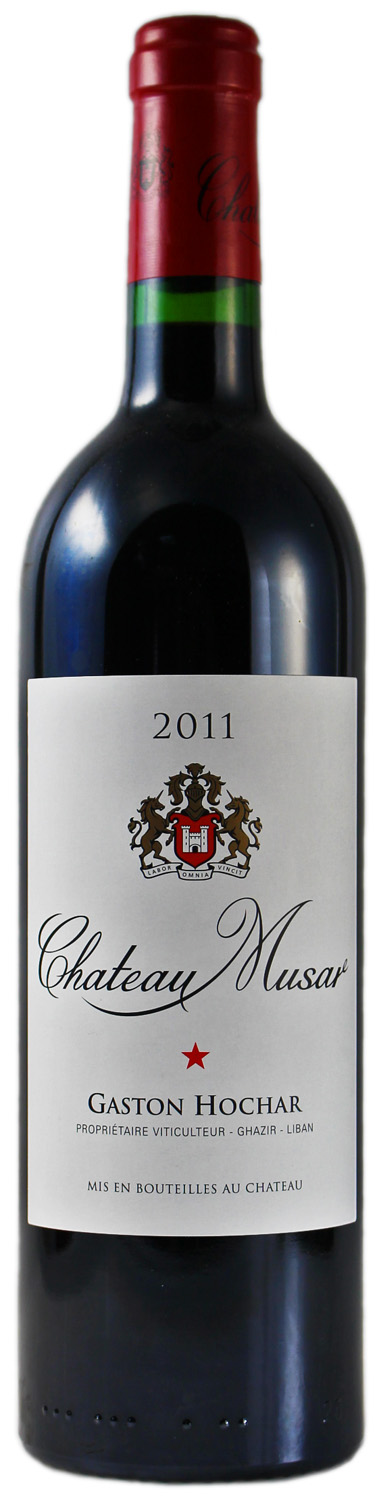 Chateau Musar Red - Wine of Lebanon - Bekaa Valley  0,75 l