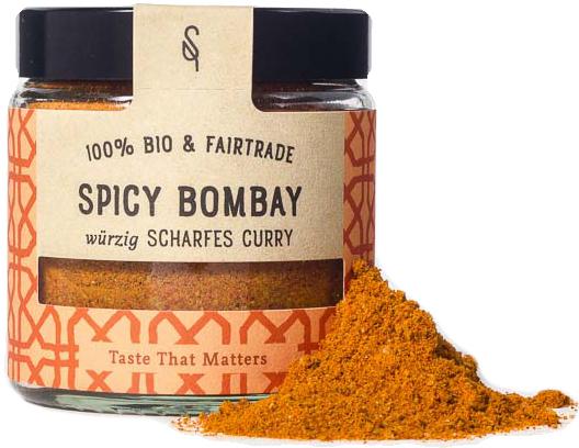 Spicy Bombay - Indische Bio Gewürzmischung 50g - SoulSpice