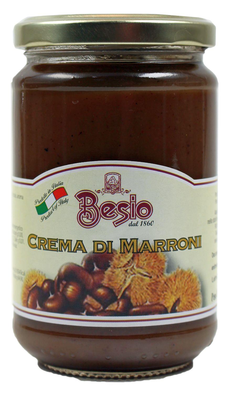 Crema di Marroni - Creme aus Esskastanien 350g - Besio, Italien