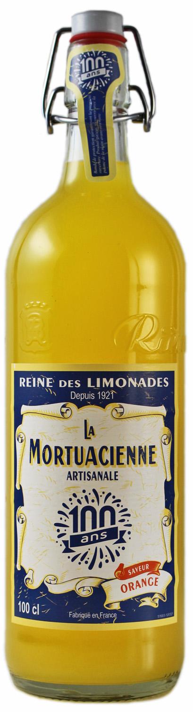 La Mortuacienne - Orangenlimonade  1,0 l - Rieme Boissons, Frankreich