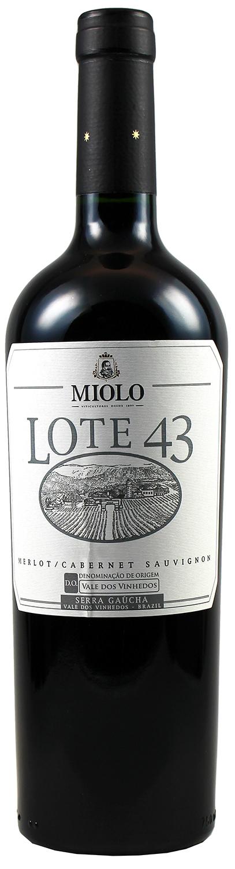 Lote 43 - Cabernet Sauvignon & Merlot  0,75 l - Miolo Family Vineyards