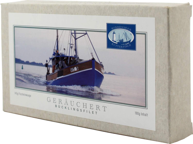 Bücklingfilet - geräuchert - Hiddenseer Kutterfisch 200g