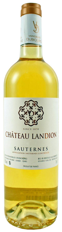 2016er Chateau Landion - AC Sauternes  0,75 l