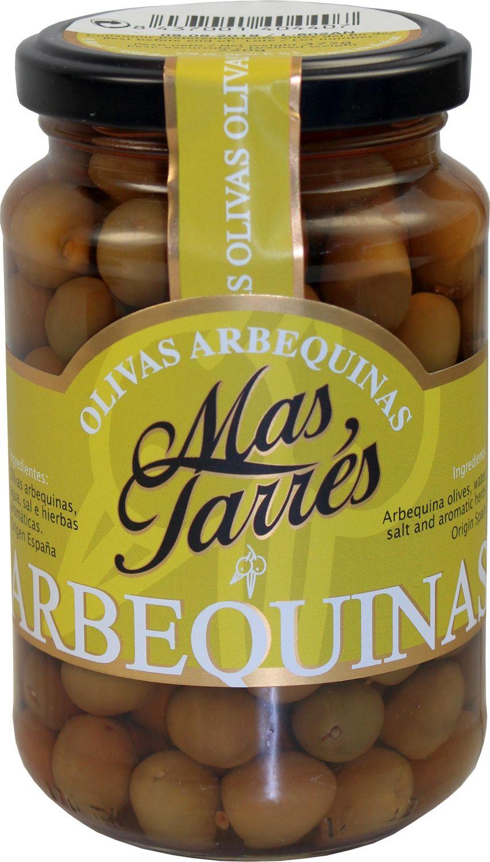 """Oliven """"Mas Tarres"""" - Arbequina 375g - Tarragona, Katalonien"""