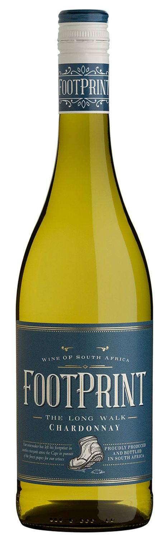 Chardonnay - Footprint  0,75 l - Wine Of Origin Western Cape