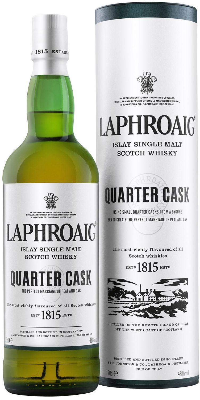Laphroaig Quarter Cask - Single Islay Malt - 48% Vol.  0,70 l