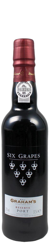 Grahams - Six Grapes Reserve Port - 20% Vol.  0,375 l