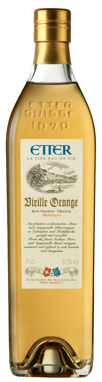 Vieille Orange Barrique - Etter Schweiz - 40% Vol.  0,70 l