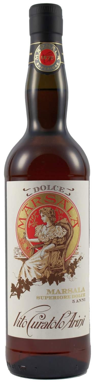 Marsala Curatolo - Superiore Dolce DOC - 18% Vol.  0,75 l