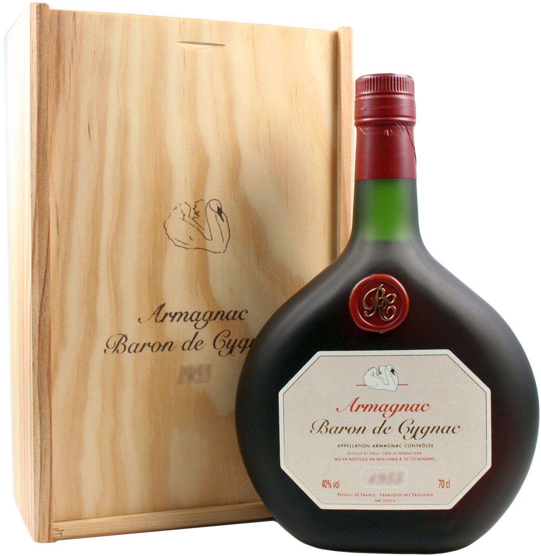 1980er Baron de Cygnac - BAS Armagnac A.O.C. - 40% Vol. 0,70 l