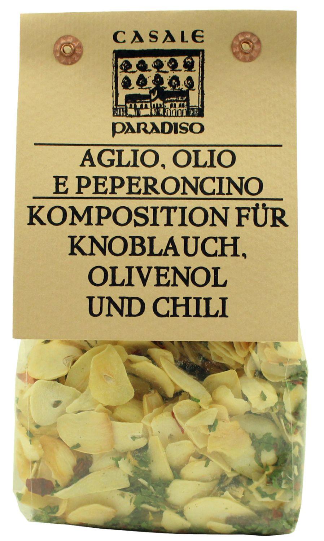 Aglio, Olio e Peperoncino - Gewürzmischung 100g - Casale Paradiso