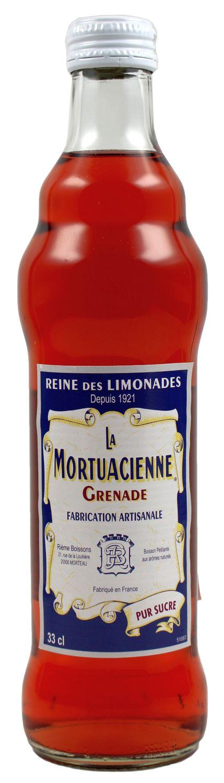 La Mortuacienne - Granatapfellimonade  0,33 l - Rieme Boissons, Frankreich