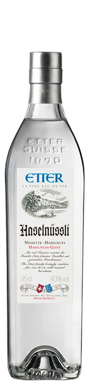 Haselnüssli - Etter Schweiz - 40% Vol. 0,35 l