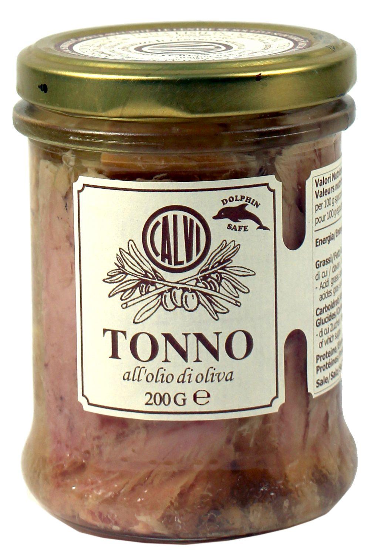 Thunfisch in Olivenöl - Calvi 200g - Ligurien