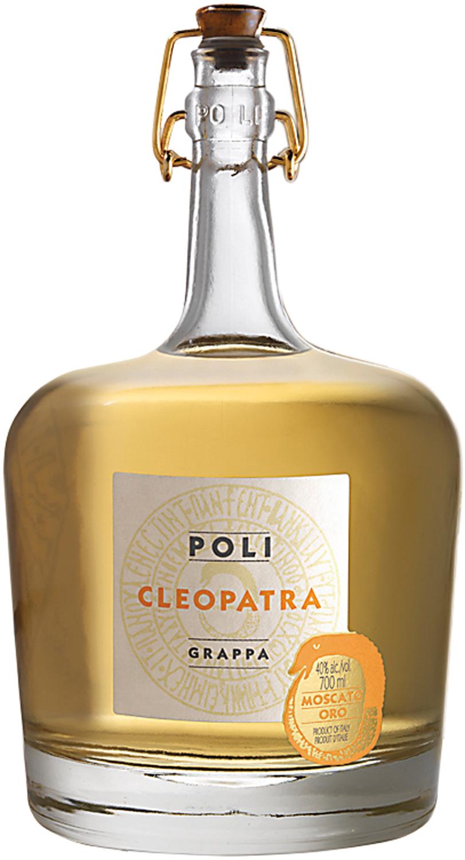 Grappa Cleopatra Moscato Oro - Jacopo Poli - 40% Vol. 0,70 l
