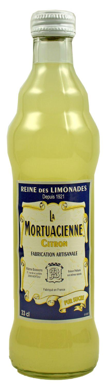 La Mortuacienne - Zitronenlimonade  0,33 l - Rieme Boissons, Frankreich