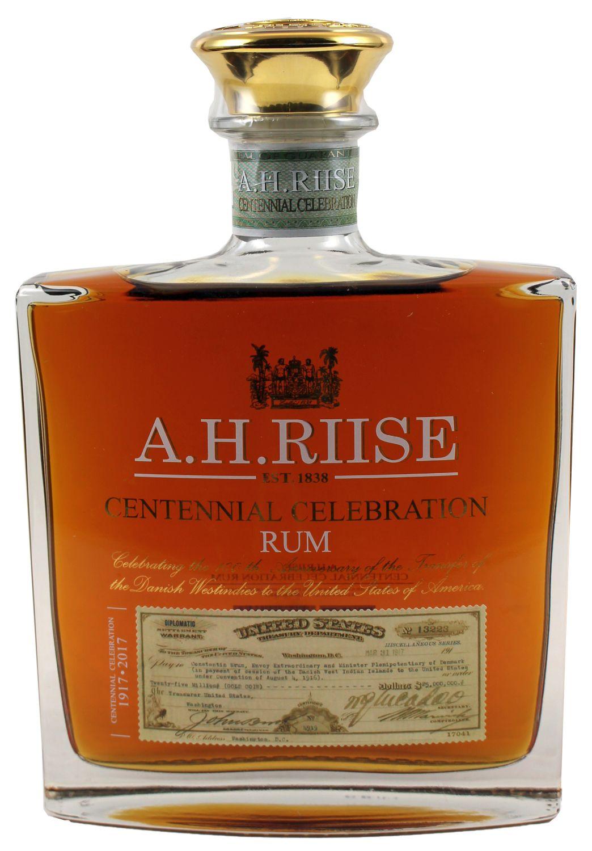 A.H. Riise Centenial Celebration - US Virgin Islands / Dänemark - 45% Vol.  0,70 l