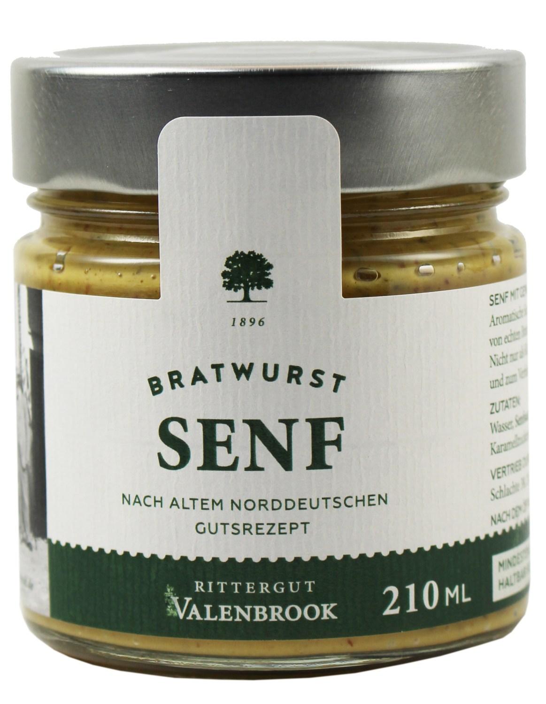 Bratwurst Senf - Rittergut Valenbrook 210 ml